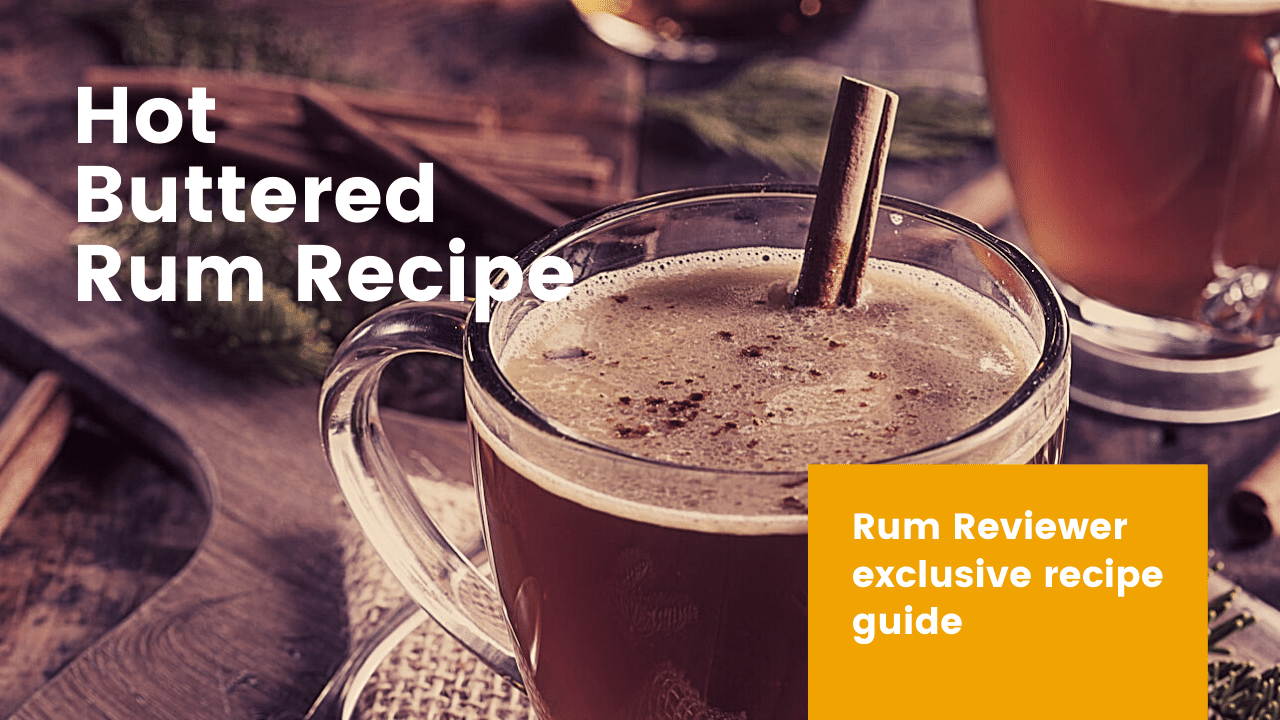 hot buttered rum recipe featured image